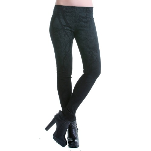 Printed Legging with Zippers