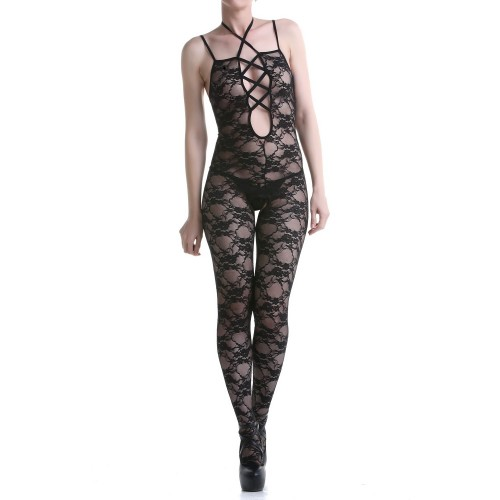 Jumpsuit Made of Lace