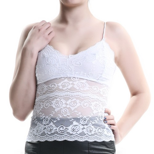 White Top Made of Lace