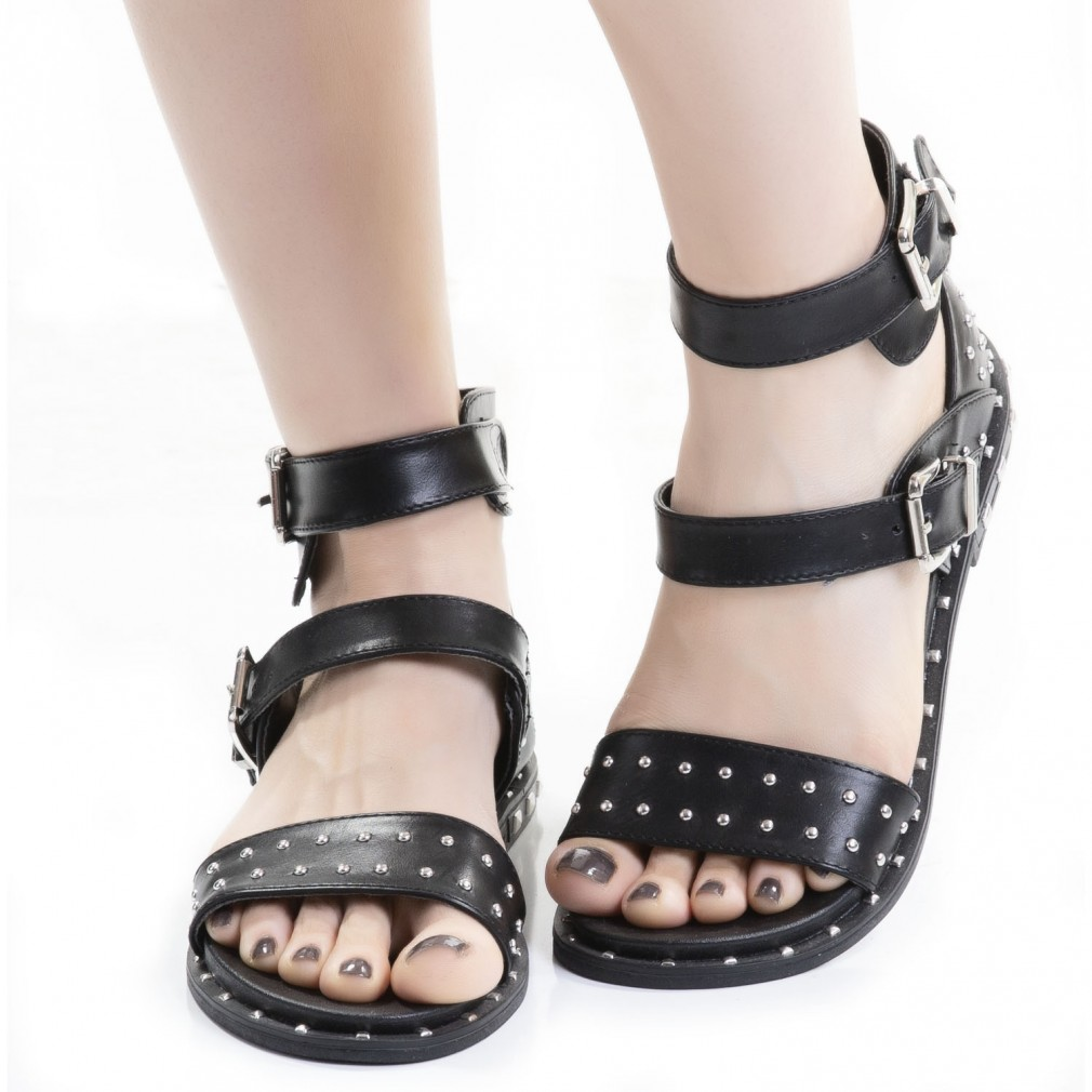 Sandals Studs Buckles With And Gothic OPZiXTku