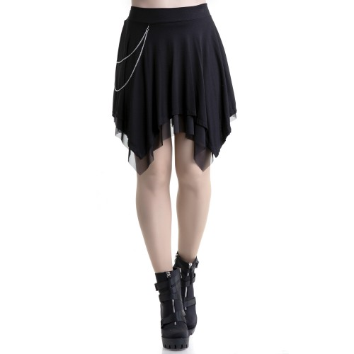 Tulle Skirt with Chains