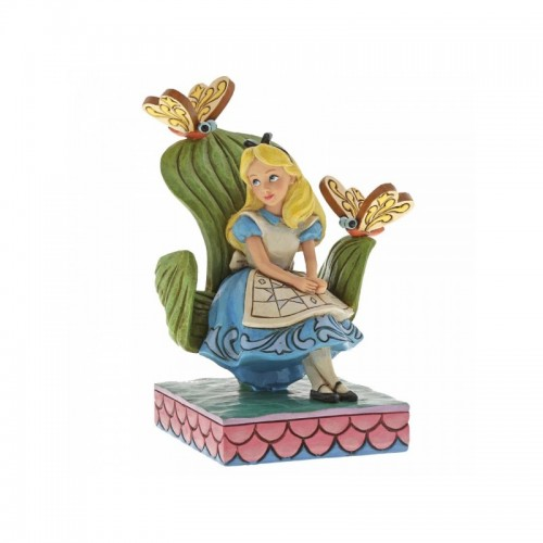 DISNEY TRADITIONS : CURIOUSER AND CURIOUSER (ALICE IN WONDERLAND FIGURINE)  6001272
